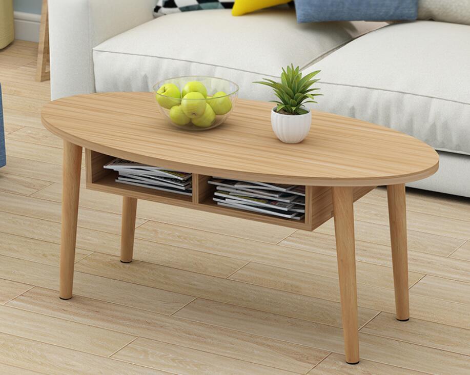 100*50*42CM Solid wood table legs Elipse Tea table Coffee table end table With drawer 100*50*42CM Solid wood table legs Elipse Tea table Coffee table end table With drawer