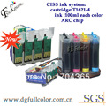 Freies Verschiffen Neue Und Heißer Verkauf T1621 CISS FARBSYSTEM Für WF 2010W Tintenstrahldrucker|ciss ink system|ink systemciss ink -