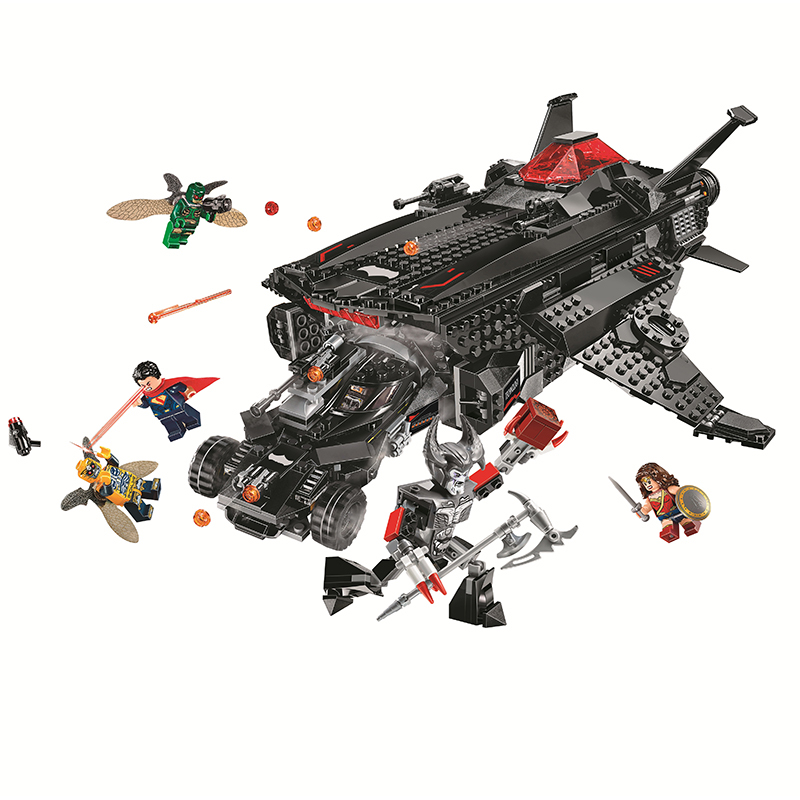 Bela Compatible Legoe Marvel Batman Flying Fox Batmobile Airlift Attack Avengers Infinity War Super Hero Building Blocks Bricks все цены