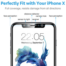 ESR Tempered Glass Film for iPhone X