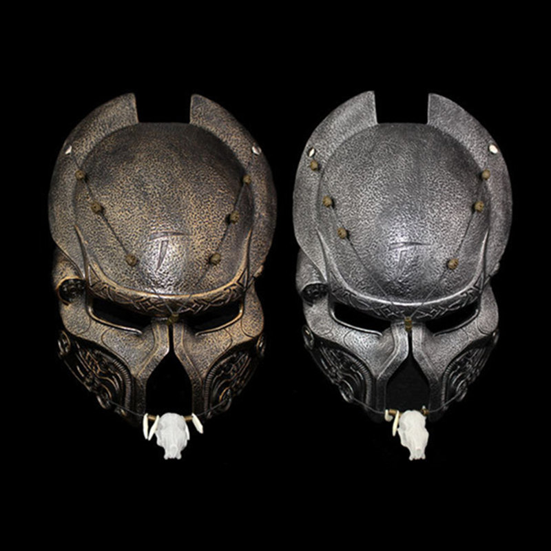 High Quality Movie Theme Alien Vs. Predator Mask Resin Cosplay Helmet Makeup Party Halloween Mask Collectibles Home Decor