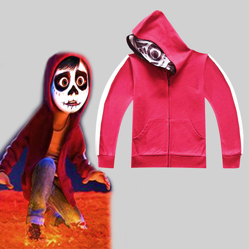 Children's Anime Dreaming Tournament Cosplay Halloween Costume Boy Autumn hoodie Sweatshirt Set Sportswear Red Top + Vest