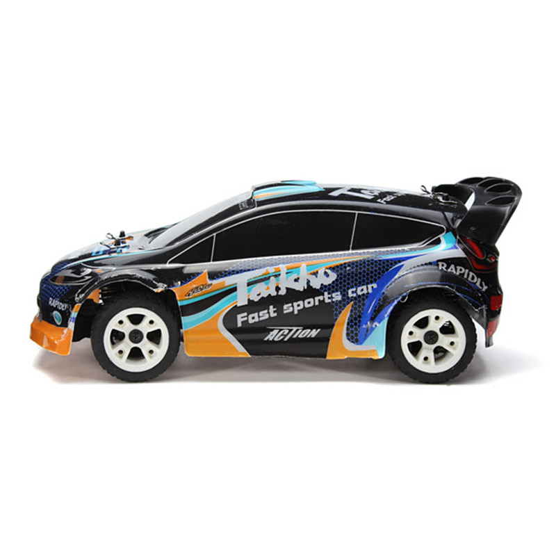 WLtoys A242 1/24 4WD Electrical Rally Car RC Car 180 Brushed Remote Control Cars Toy rally car with a key to open the door automatically shoupeng simulation remote control car remote control cars rc car rc toy