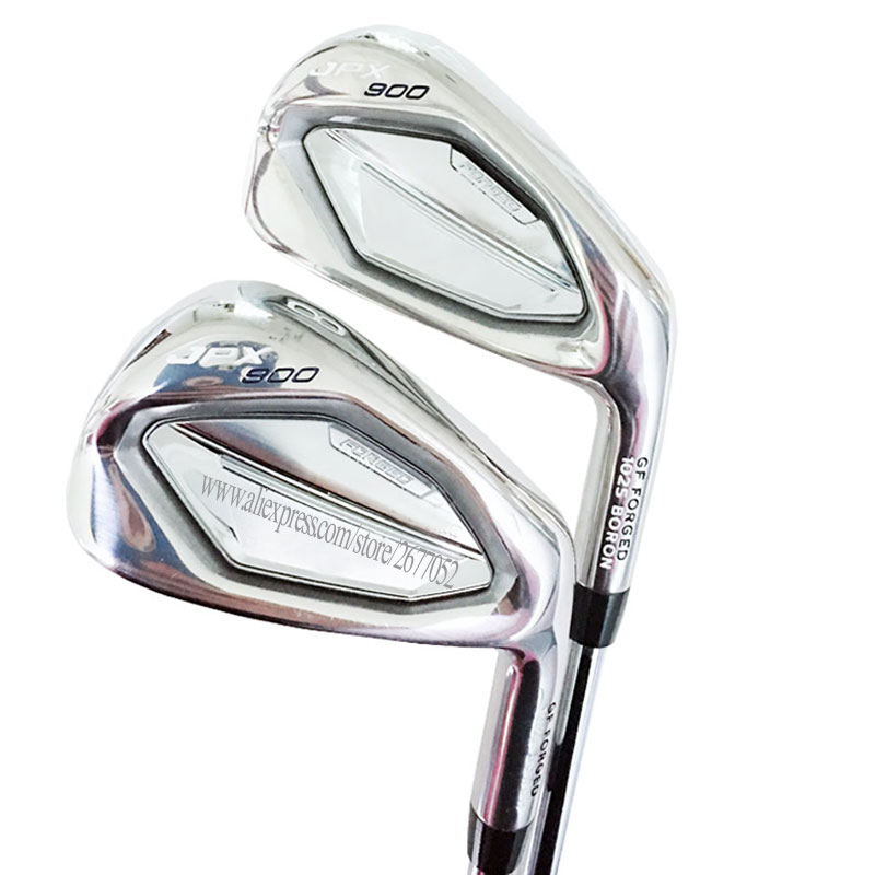 New Golf Clubs JPX 900 Golf Irons Set 4-9PG  Forged Golf Clubs Irons Steel Shaft Regular And Stiff Flex Cooyute Free Shipping