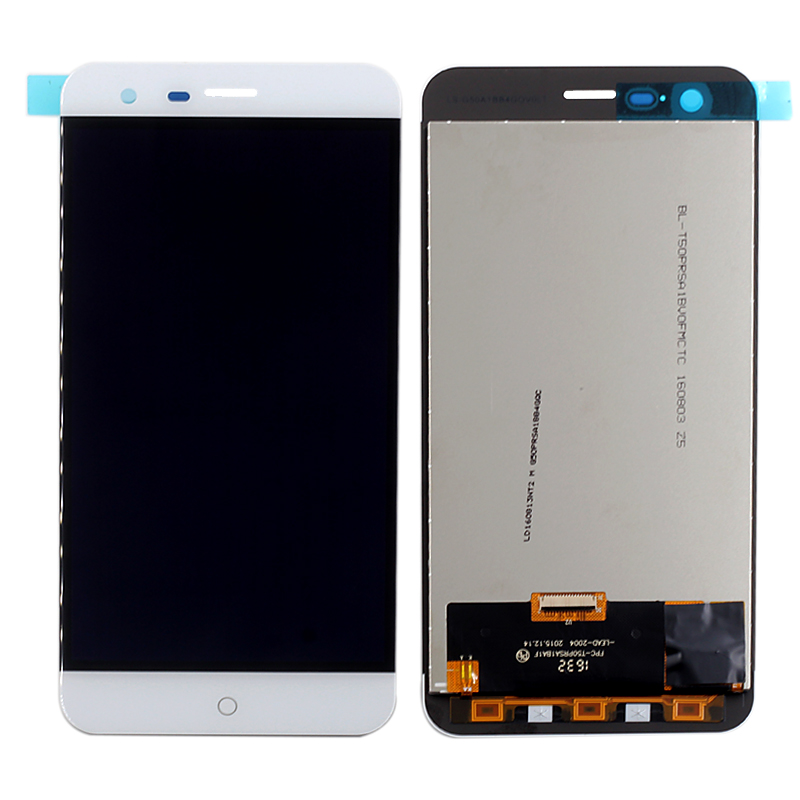 ФОТО For Ulefone Paris LCD Display+Touch Screen Original Digitizer Glass Panel Assembly Ulefone paris 1280x720 HD 5.0inch Cell Phone
