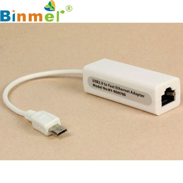 Computer & Büro VertrauenswüRdig Top Qualität Neue Micro Mini 5pin Usb Auf Rj45 10/100 Mt Ethernet-netzwerkadapter Für Samsungtable Pc Drop Schiff 17oct14 Geschickte Herstellung