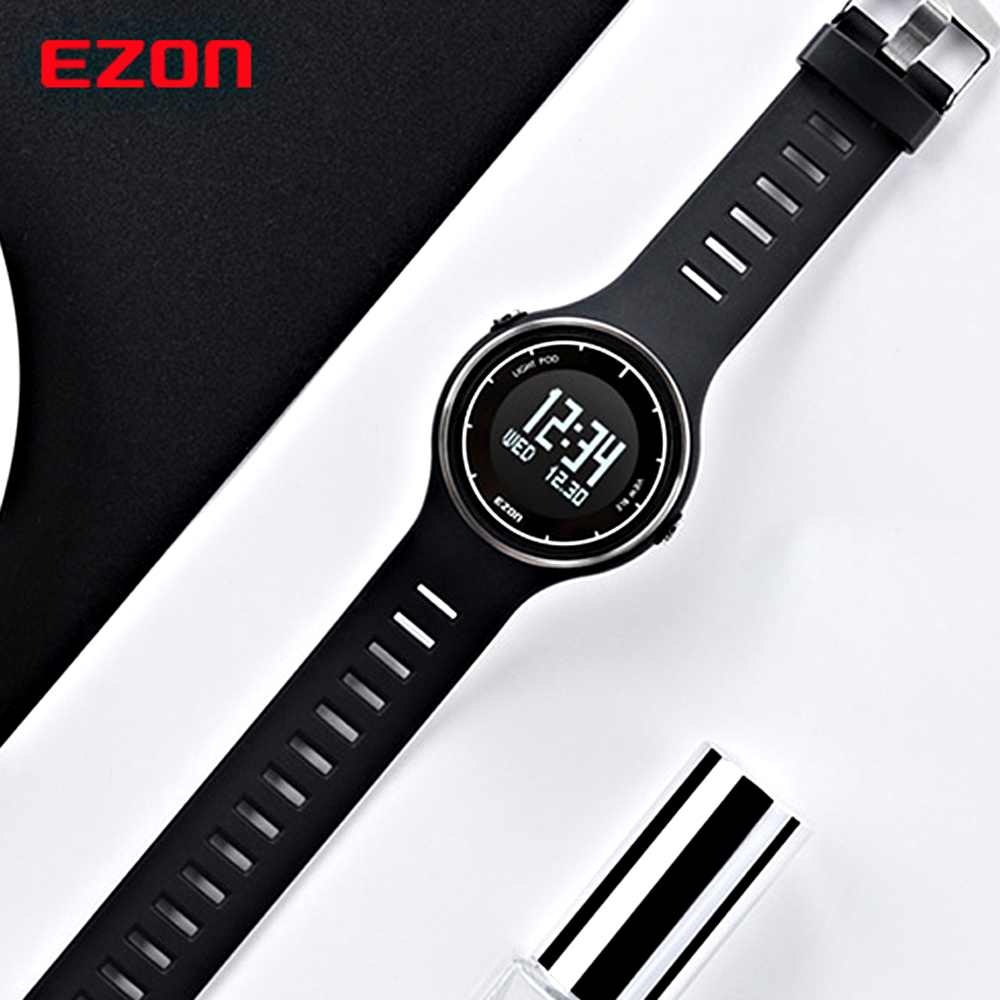 EZON S1 Smart Bluetooth Watch Pedometer Calorie Counter Running Wristwatch Sports Digital Watches for IOS Android smart wristwatch band smart bracelet watch heart rate pedometer sleep monitor bluetooth calorie counter for android and ios e