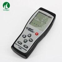 Smart Sensor Thermo Anemometer AR866 Air Flow Velocity Wind Speed Meter Anemometer