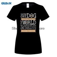 G ILDANสุนัขกู้ภัยเสื้อยืดเสื้อยืดราคาถูกขายส่ง