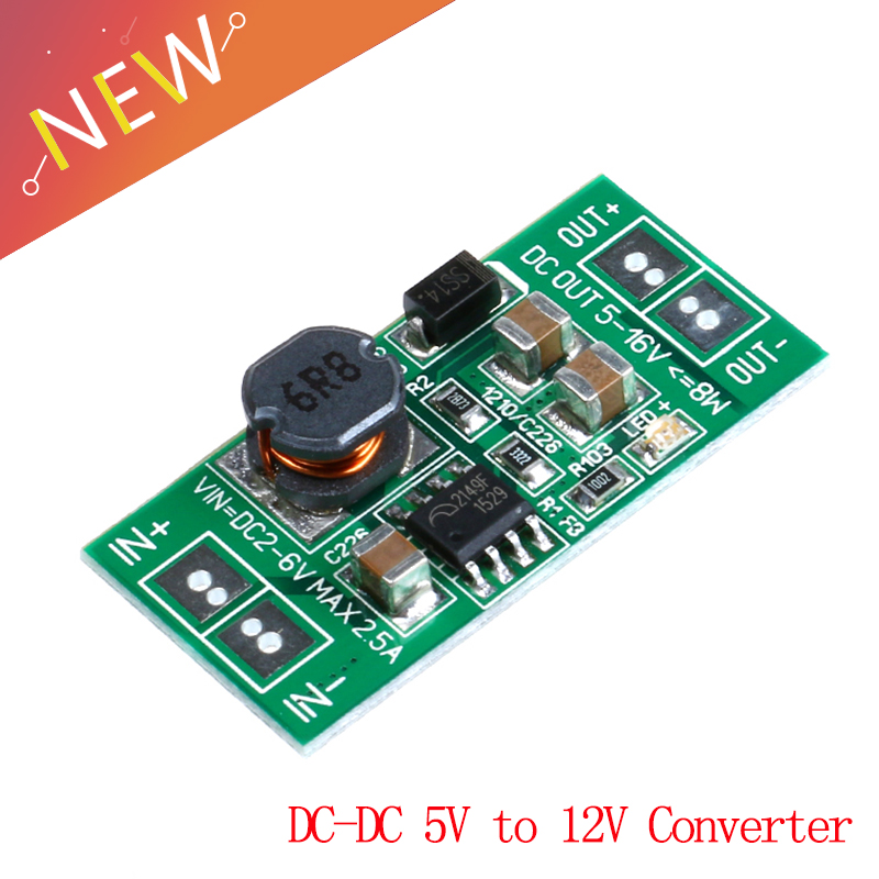 1Pcs Down Converter Module Solar Voltage LM2577 Dc-Dc Auto Boost Buck Step Up yp