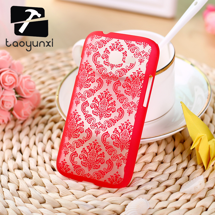 TAOYUNXI Plastic Phone Cases For Samsung Galaxy Star Plus Pro S7262 S7260 GT-S7262 I679 4.0 Inch Back Cover Vintage Flower Case