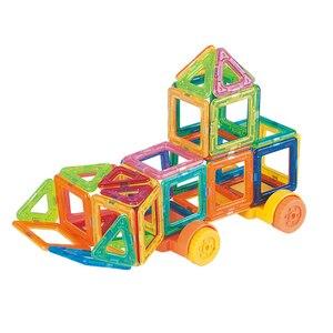 Image 3 - 121PCS Mini Magnetic Building Blocks Magnetic Constructor Designer Set Model & Building Magnetic Blocks Educational Toy For kids