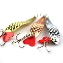 1 шт. 10 см 17 г ложка рыболовная приманка металлическая приманка для джига твердые приманки рыболовные снасти, воблер Jig Swimbait 3 цвета на выбор