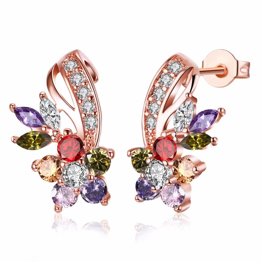Fashion Jewelry Purple Amethyst Gemstone Pearl Diamante Wedding Bridesmaid Prom Jewellery Set Shrink-Proof