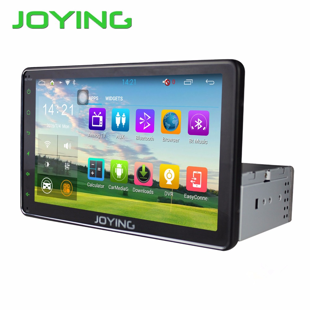 Joying Car Stereo Autoradio GPS Navagation For Universal 8 or 10 Single 1 Din font b