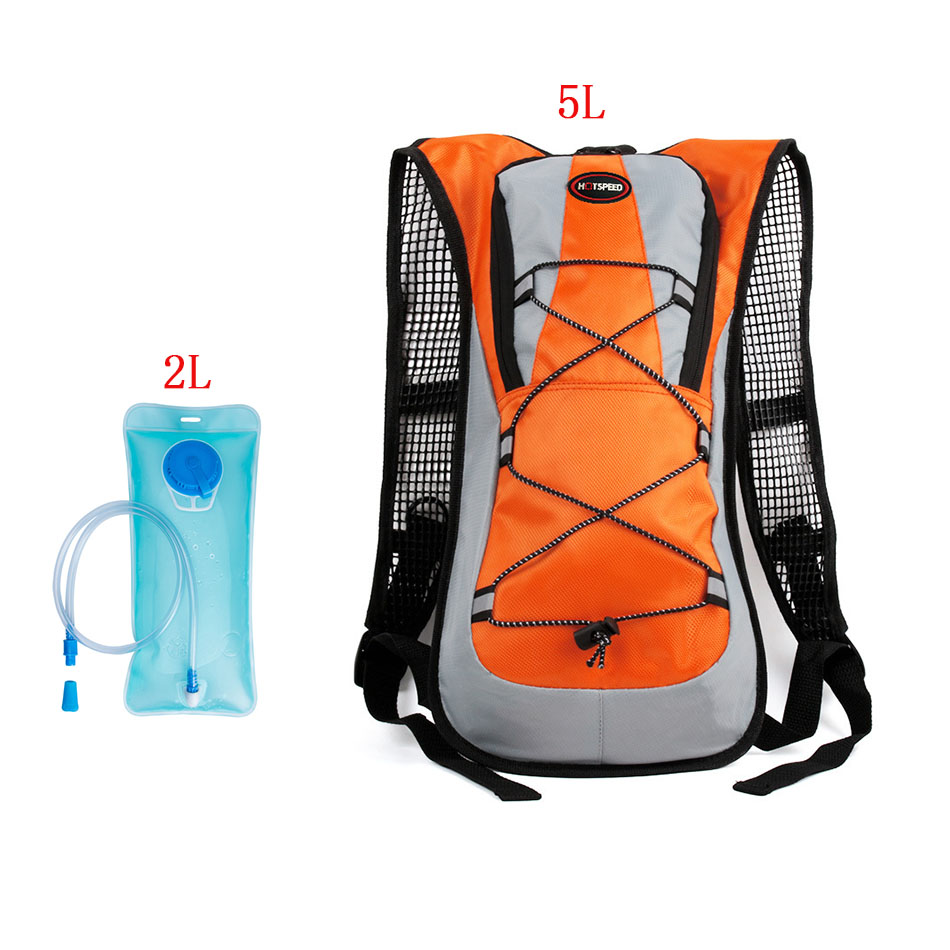 Bike 5L Mini Cycling Backpack Hold Water MTB Riding Road Bags Water Storage Bicycle Bag  ...