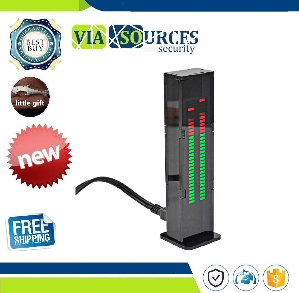 AS30 LED Music Audio Spectrum indicator Amplifier Board SCM Stereo Level indicator VU Meter Speed Adjustable With CaseAS30 LED Music Audio Spectrum indicator Amplifier Board SCM Stereo Level indicator VU Meter Speed Adjustable With Case