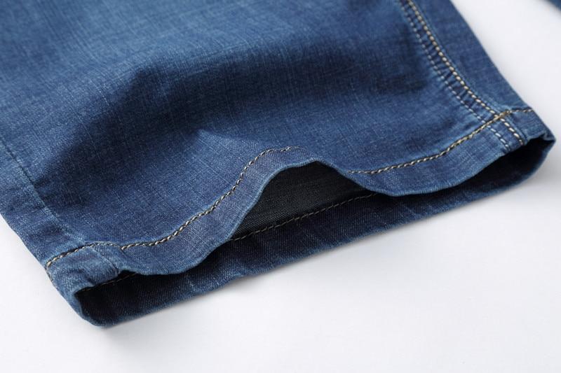 MOGU Ravne priložnostne kratke hlače Moške kratke hlače iz jeansa - Moška oblačila - Fotografija 4