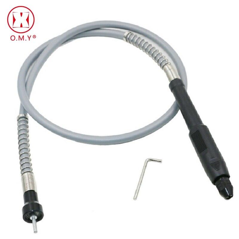 Profesión amoladora del eje Flexible de 0,3-3,2mm taladro Chuck manejar para Dremel 3000 herramientas eléctricas accesorios