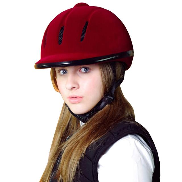 Child Women Men Horse Riding Helmet Breathable CE Safety Half Cover Horse Rider Helmets Equestrian Helmet