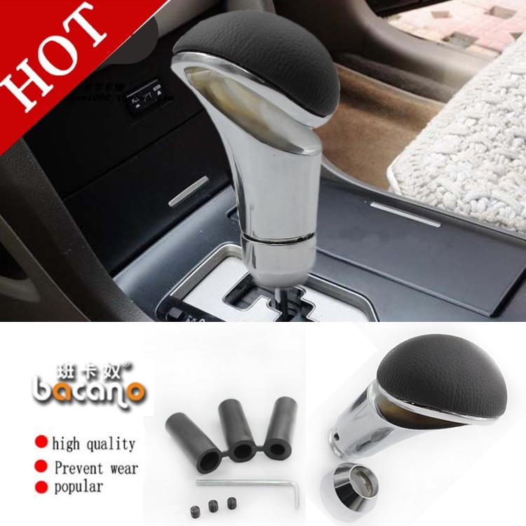 BACANO Gear head auto shift knob carbon fiber car metal Gear Shift Knob general gear stick head refires shift lever