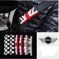 Кожа Клетчатый Логотип Комфорт Ремень Безопасности Должен Pad Для BMW Mini Cooper One S R55 R56 R58 R59 R60 R61 F55 F56 Countryman Clubman