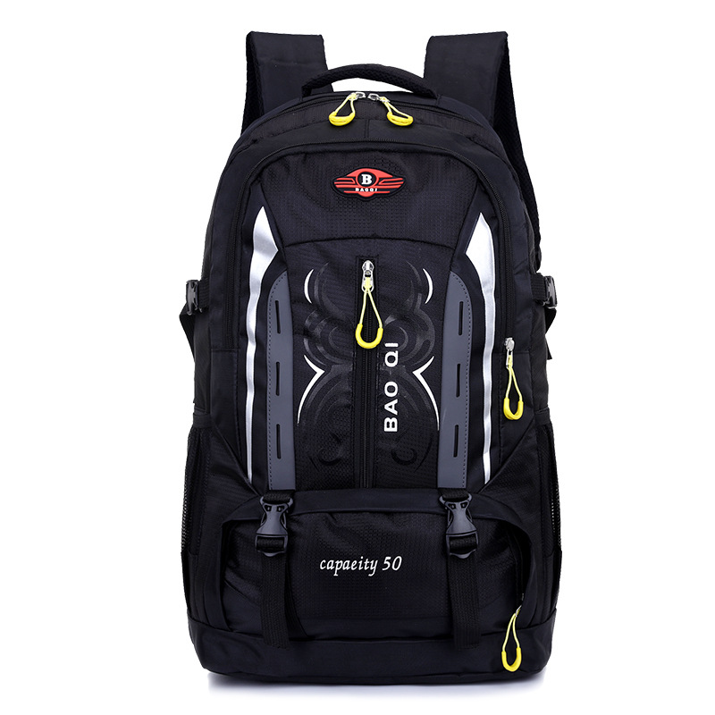 50L Unisex Men Backpack Travel Pack Sports Bag Pack Outdoor Mountaineering Hiking Climbing Camping Waterproof Backpack For Male
