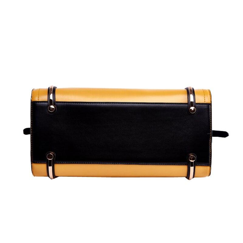 Mode en cuir véritable femmes sacs à bandoulière de luxe grande capacité sacs à main Designer haute qualité dames Messenger sac sac à main-in Sacs à bandoulière from Baggages et sacs    3
