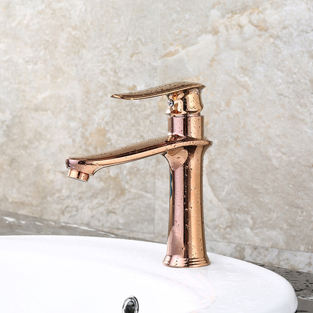 ITAS Water Supply Wholesale Rose Gold Kitchen Faucet Simple - Rose gold kitchen faucet