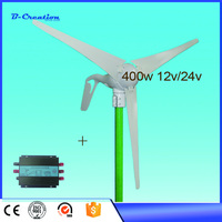 Mini Wind Power Turbine 400w 24v Generator For Homes