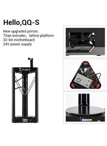 Image 3 - 2020 3D Máy In Flsun QQ PRO Tự Động San Bằng Tiền Hội Titan Cảm Ứng Màn Hình Lưới HeatBed 32Bitsboad