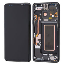 Original AMOLED LCD for SAMSUNG Galaxy S9 Plus Display Touch Screen Digitizer with Frame Replacement LCD G965F Display стоимость