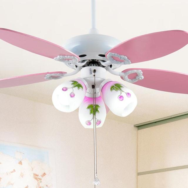 Children S Room Ceiling Fan Lights Color The Simple Cartoon Child Bedroom Lamp Boy In Fans From Lighting On