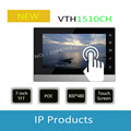 Free Shipping Hot Sale DAHUA Video Intercom Door Phone System 7-inch Color Indoor Monitor touch screen without Logo VTH1510CH