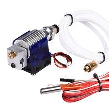 3D V6 3D принтер J-головки hotend с ptfe трубки для 1.75 мм/3.0 мм прямая нить Уэйд экструдер 0.2 мм/0.3 мм/0.4 мм/0.5 мм сопла