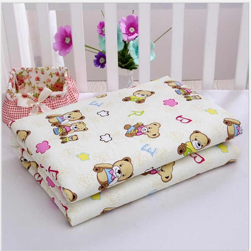 Baby Waterproof Sheet Urine Changing Pads Urine Pad Cartoon Reusable Infant Bedding Nappy Burp Mattress Changing
