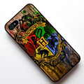 Logotipo Hogwarts Harry Potter caso capa, Para Apple Iphone 5 5S / 4 4S / 5c / 6 / 6