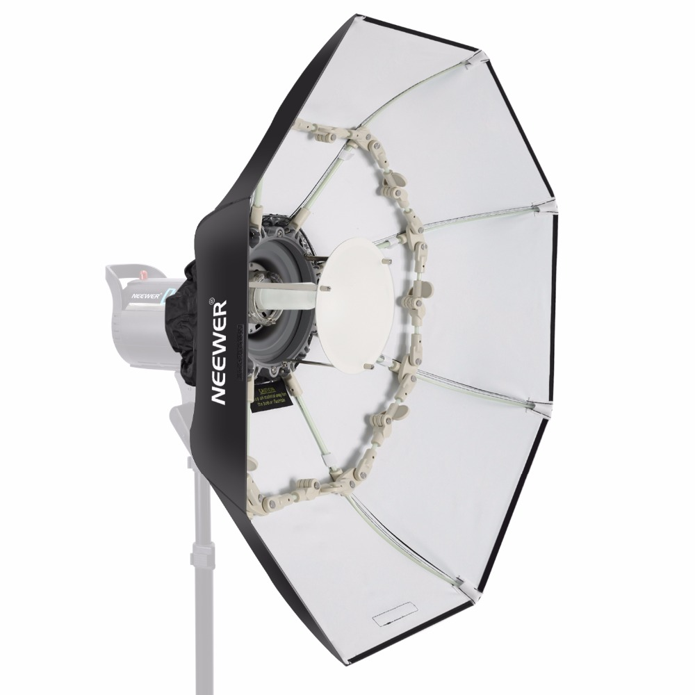 Neewer 34 inches/85 centimeters Folding Beauty Dish Octagonal Softbox