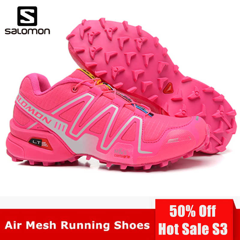 check out 8f7b4 f17fb Detail Feedback Questions about Salomon Speed Cross 3 CS III Women Shoes  Outdoor Breathable Woman Sneakers Zapatos De Mujer Female Running Shoes  Fencing ...