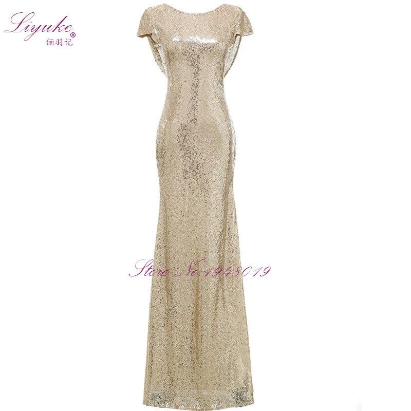 Sheath Chiffon V-Neck Sleeveless Sheath Bridesmaid dresses Beading Strapless Partner Dress Long Formal Dresses robe de soiree