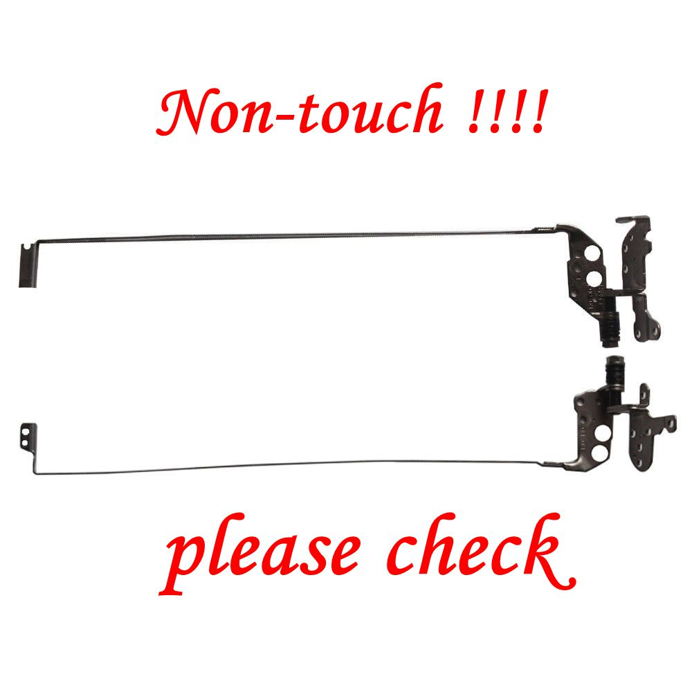 GZEELE NOUVEAU pour Toshiba Satellite L50-A L50-A040 L50D-A L50-AT01W1 écran lcd Charnière Gauche + Droite charnières pour ordinateur portable ensemble Non-Tactile