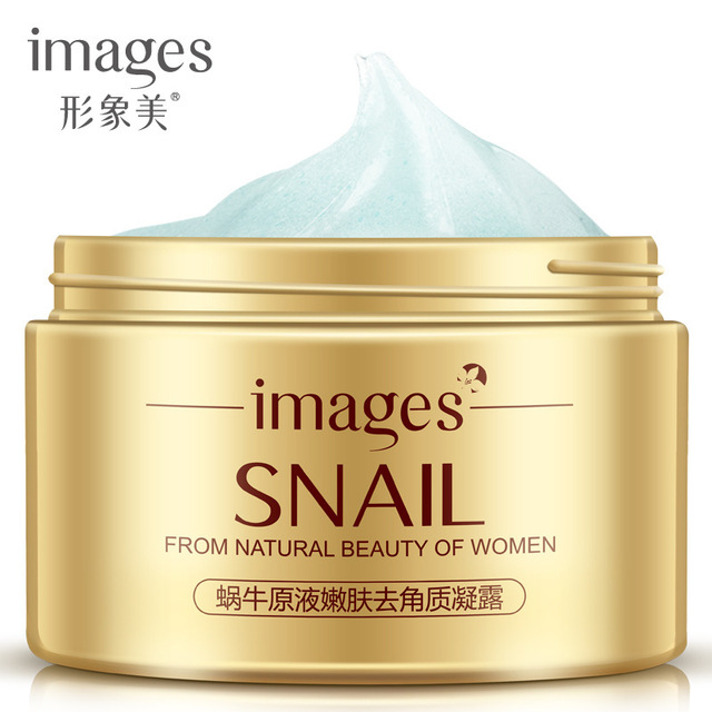 Whitening Facial Exfoliating Snail Cream Skin Care Anti Aging Wrinkle Oil Control Acne Treatment Scrub Exfoliator Face Care