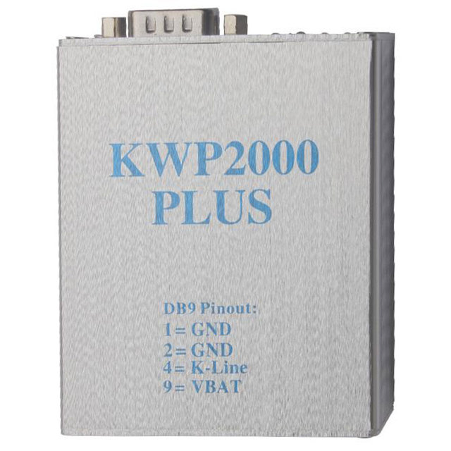 Hot Selling KWP2000 Plus ECU Flasher OBDII ECU Chip Tunning Tool KWP 2000 ECU Plus Smart Remapping Decode Free Shipping