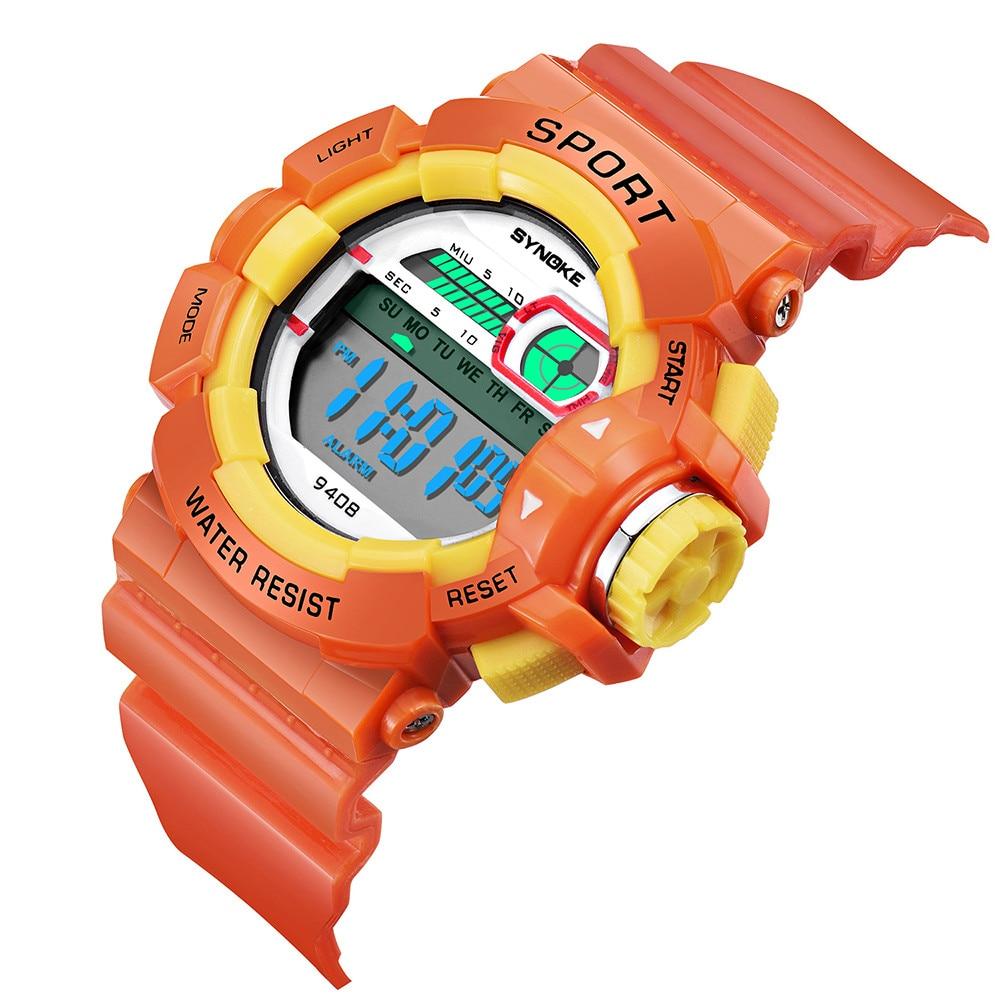 Dropship&Wholesale LED Digital Watch for Children Boys Waterproof Sports Student Watches Good LED Digital Date Wristwatch Reloj