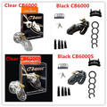 Black /Clear Plastic Male Chastity Device CB6000S /CB6000 Cock Cage Penis Lock Male Chastity Belt Adult Sex Toys For Men Penis