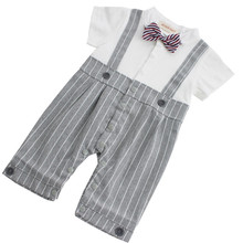 Baby Boy Gentleman Plaid Clothing Suit