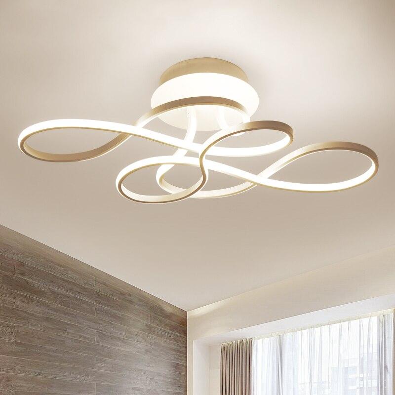 Светодиодный светодио дный потолочный светильник современный потолочный светильник для гостиной спальни потолочный светильник с регулир