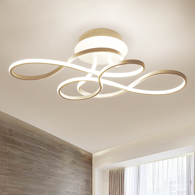 Us 199 98 Aliexpress Led Ceiling Light Modern Lamp Lights For Living Room Bedroom Dimmable With Remote Control