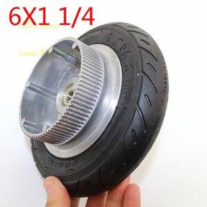150 мм Ступица колеса алюминия 6x1 1/4 колеса шины внутренняя труба электрический скутер 6 дюймов пневматический электрический ремень для скуте...