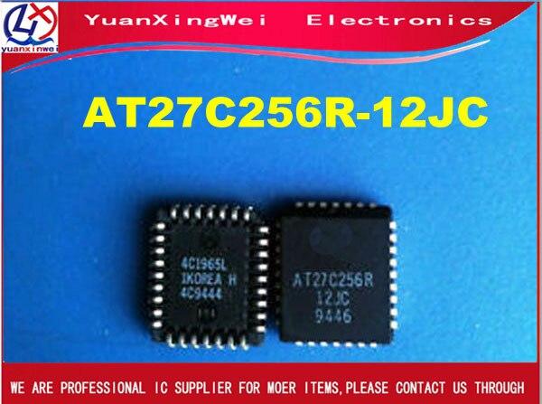 AT27C256R 12JC AT27C256R ATMEL PLCC 32 IC 10 unids/lote envío gratis